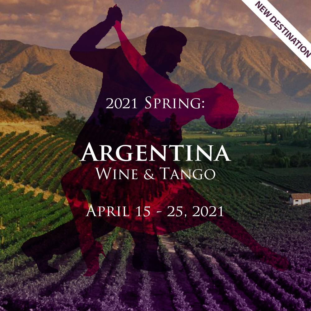 Divine Tours Presents, Argentina Wine & Tango!